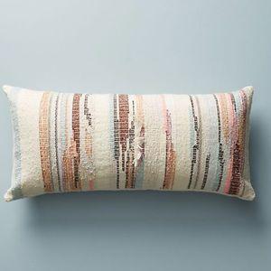 Anthropologie Jess Feury Sunstreak Pillow